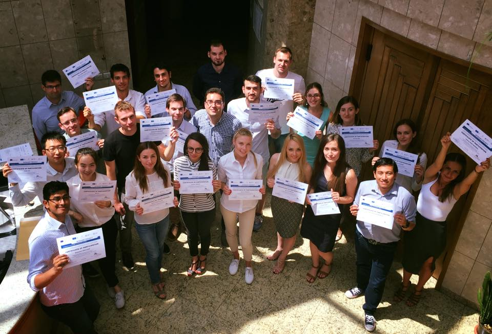Successfull participants of the Intensive Programme 2017