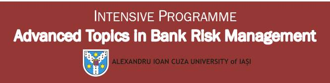 Apply now! Intensive Programme – Advanced Topics in Bank Risk Management